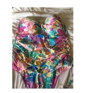 Ann Cole Bandau swimsuit
